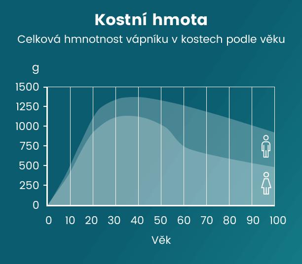 Graf kostní hmoty